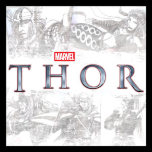The Might Thor sketch cards