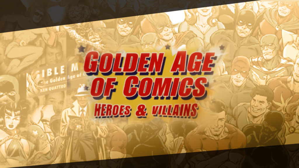 Golden Age of Comics cover