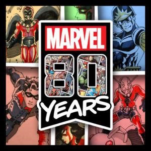 Marvel 80th Anniversary Sketch Cards
