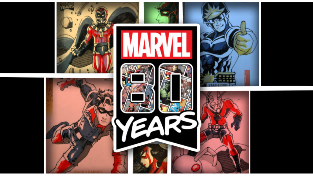 Marvel 80th anniversary cover