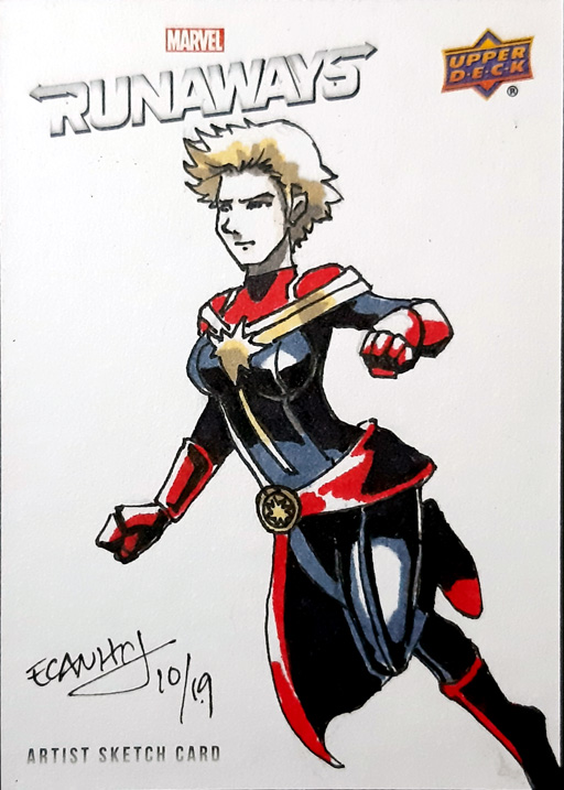 "Captain Marvel ""Carol Danvers"""