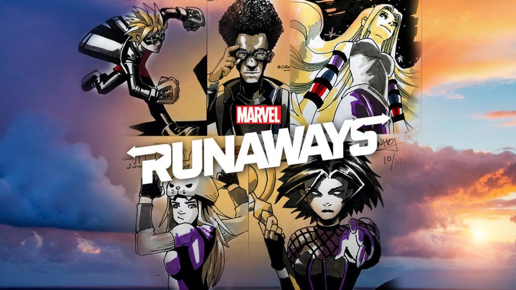 Marvel's Runaways Artist Sketch Cards by Ecanhoj