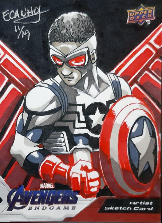 Falcon as Capt. America