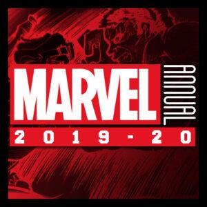 2020 Marvel Annual Sketch cards Ecanhoj cover