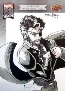 Nick Fury Sr. Agent of SHEILD